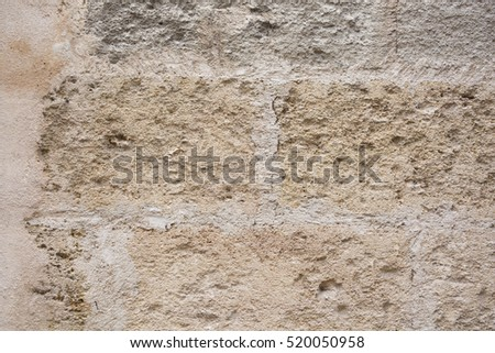 Background - Stacked Stone Wall. Rustic rock wall