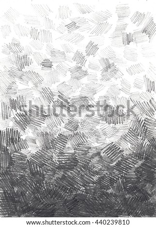 Background stokes sketch pencil drawing black white chalk