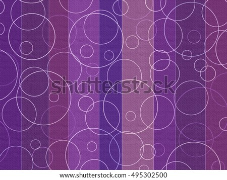 Background Stripes and Circles