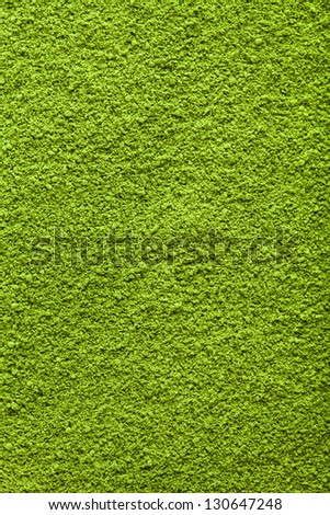 Background surface of green powder matcha tea - stock photo