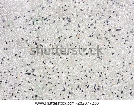 Background surface of terrazzo floor - stock photo