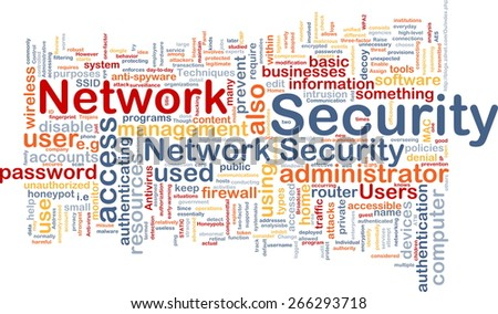Background text pattern concept word cloud illustration of network - stock photo