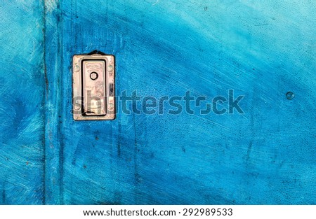 Background Texture Caribbean Blue with Lock