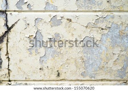 background texture from cracked wall paint