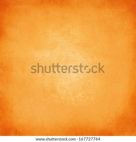 Background texture in orange canvas - stock photo