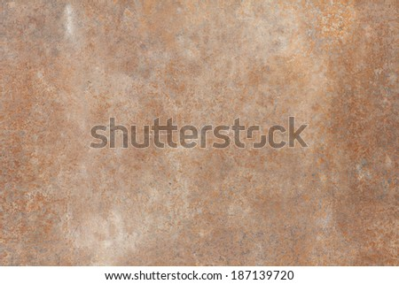 background texture metal rust old iron leaf - stock photo