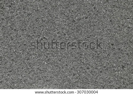 Background - texture of black foam - stock photo