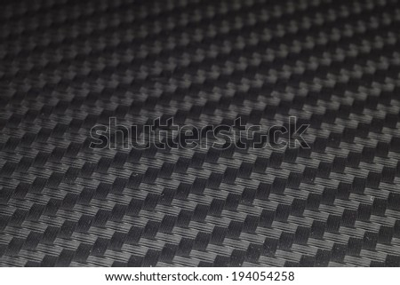 Background Texture of Carbon Kevlar Fiber material - stock photo