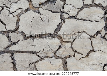 background texture of dry soil with cracks