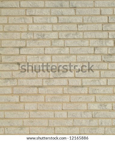background texture of light coloured brickwork