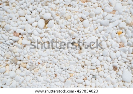 Background texture of marble pebbles. - stock photo