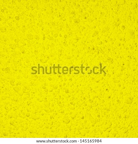 Background texture of old dirty yellow wall