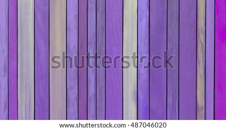 Background texture of old painted wooden lining boards wall - Purple