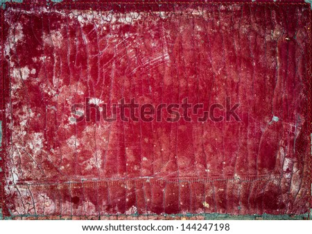 background texture of old used book cover - stock photo