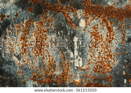 Background texture of Rusted steel. Abstract large rust surface background. - stock photo