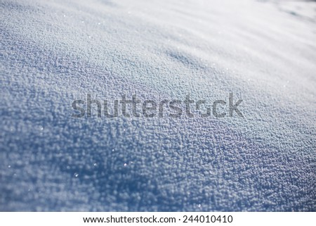 background texture of snow
