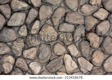 Background texture of stone floor. - stock photo