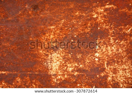 Background, texture of the old, rustic metal