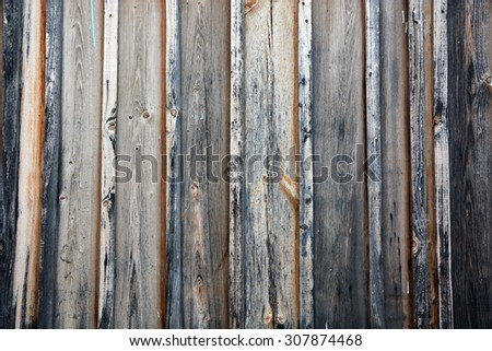 Background, texture of the old, worn, wooden gates - stock photo