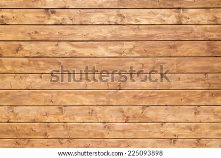 Background texture of uncolored painted wooden lining boards wall - stock photo