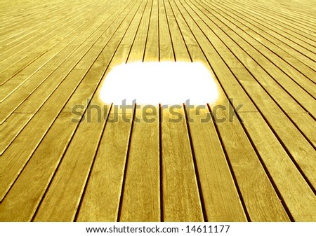background texture of wooden boards floor with a white space to write - stock photo