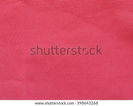 Background texture pattern of red fabric.          - stock photo