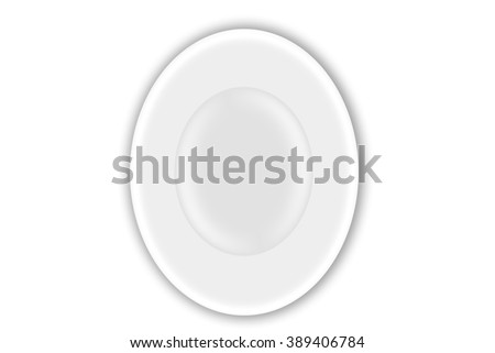 background texture plate white