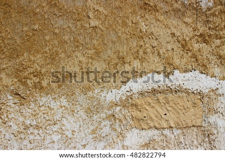 Background Texture Stucco Wall