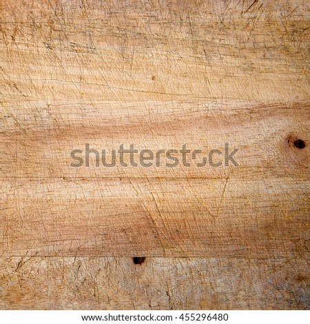 Background texture with old wooden cutting board