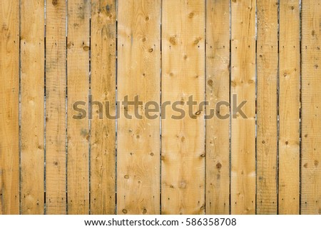 background texture. wooden fence fresh pine boards
