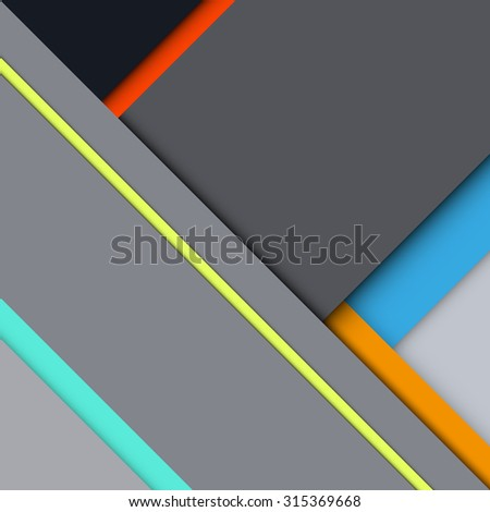 Background Unusual modern material design. Square form. Abstract Illustration.  - stock photo