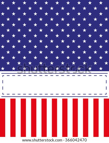 Background US Independence Day theme. Cards, invitations, advertising. Illustration - stock photo