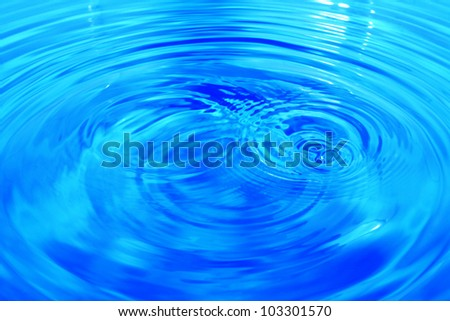 Background water drops. - stock photo