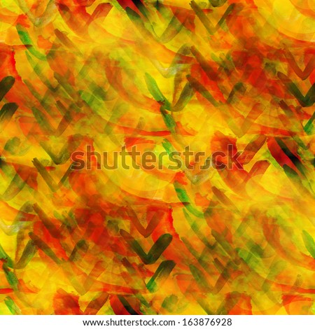 background watercolor texture abstract  paint pattern yellow, red art
