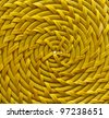 Background. Wicker plait texture - stock photo