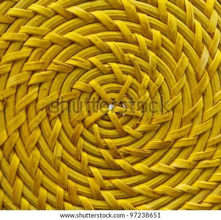 Background. Wicker plait texture - stock photo