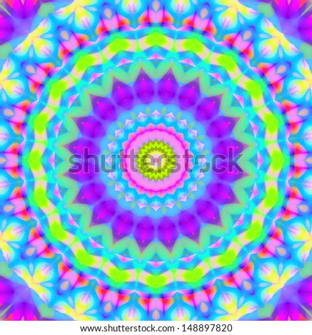 Background with abstract bright radial pattern