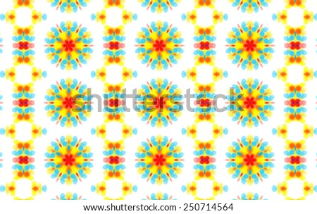 Background with abstract colorful pattern - stock photo
