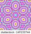 Background with abstract radial color pattern - stock photo