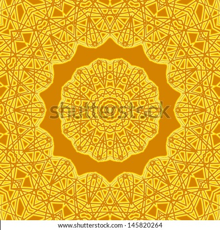 Background with abstract radial pattern - stock photo