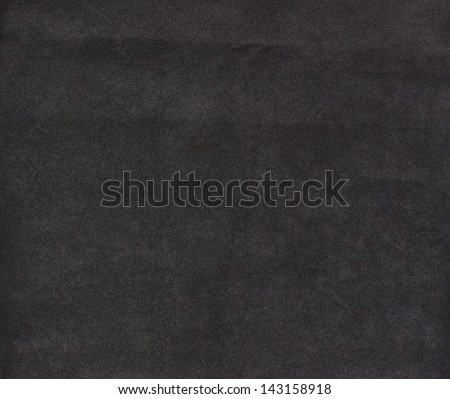 Background with black texture, velvet fabric, full frame, close-up - stock photo