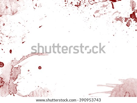 Background with blood stains