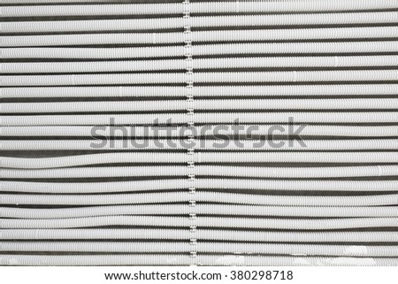 background with cables - stock photo