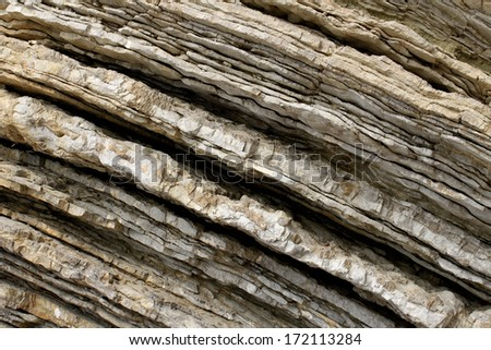 Background with closeup of rocks - stock photo