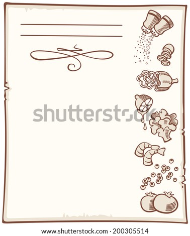 background with coffee beans and cup - seamless - stock photo