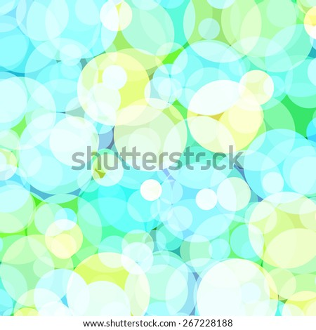 Background with colored circles. Raster 7  - stock photo