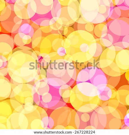 Background with colored circles. Raster 1  - stock photo