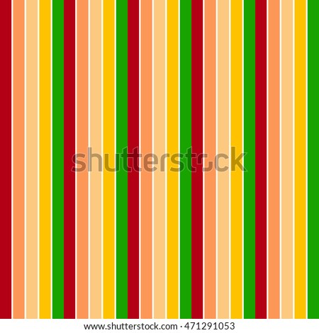 Background with colorful red, orange, yellow and green stripes