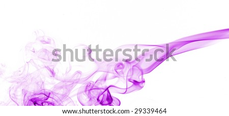 Background with creative smoke.