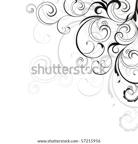 Background with design elements
